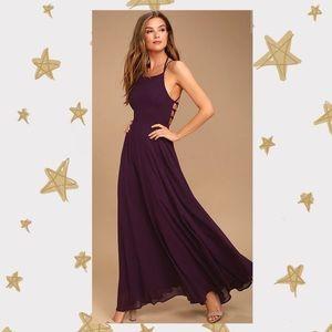 Lulu's Plum Purple Dress